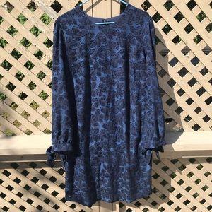 Blue Banana Republic Long Sleeve Dress - 16 Tall